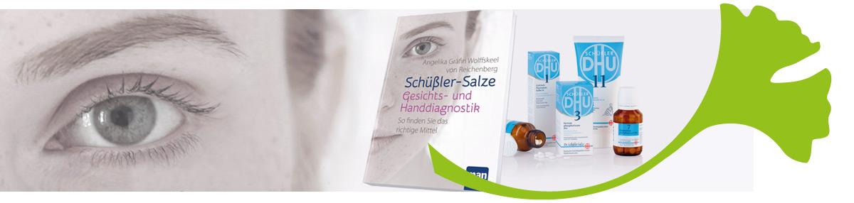 """Petra Neumayer empfiehlt """"Schüßler Salze: Gesichts- und Handdiagnostik"""""""